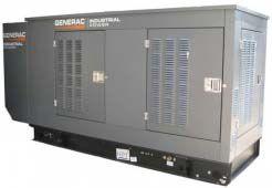 Generac SG130(104) в шумозащитном кожухе