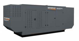 Generac SG300(240) в шумозащитном кожухе