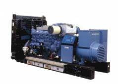 SDMO V400C2 без шумозащитного кожуха