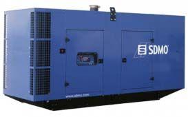 SDMO D700 в шумозащитном кожухе