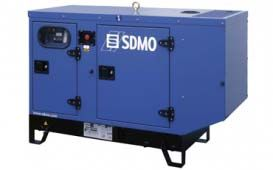 SDMO T12KM в шумозащитном кожухе