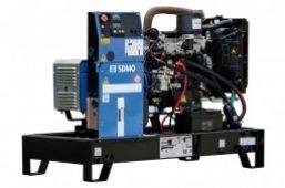 SDMO K17M без шумозащитного кожуха