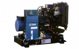 SDMO J33 без шумозащитного кожуха
