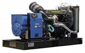 SDMO V440C2 без шумозащитного кожуха