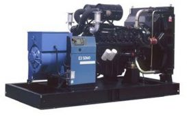 SDMO D440 без шумозащитного кожуха