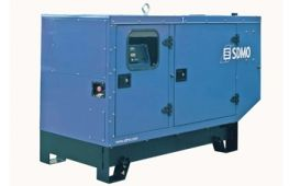 SDMO T33K в шумозащитном кожухе