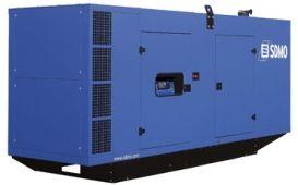 SDMO D440 в шумозащитном кожухе