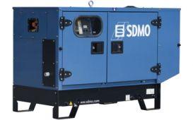 SDMO K9 в шумозащитном кожухе